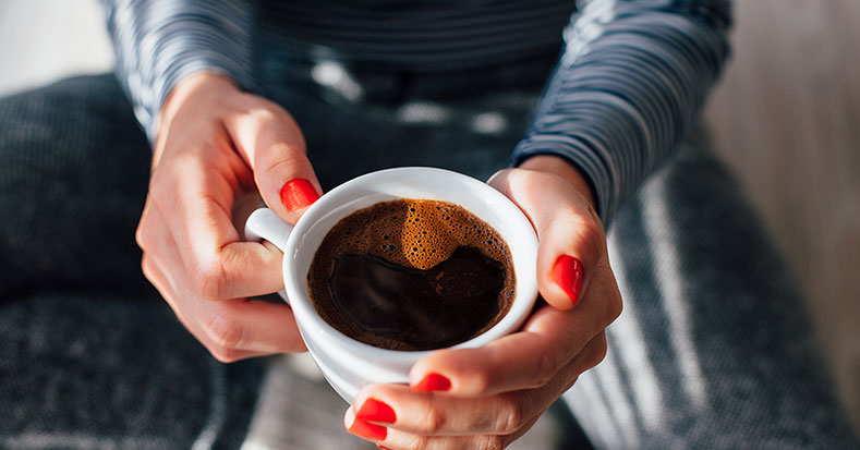 Black coffee may lower water retention