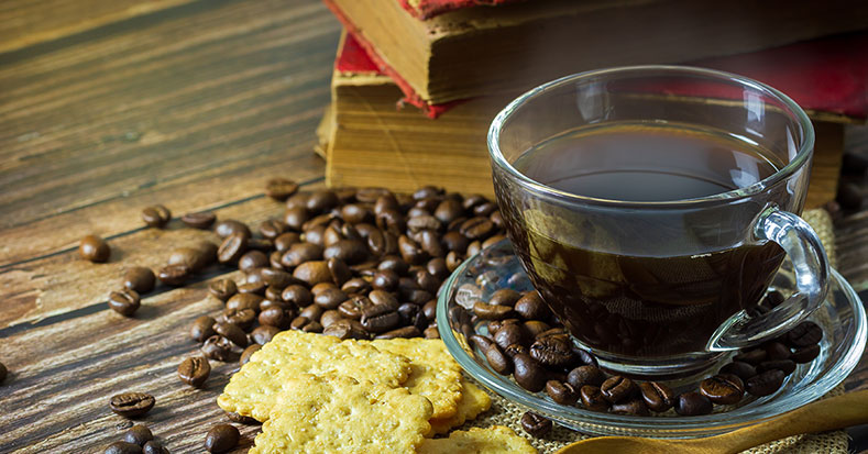 Black coffee as a low-calorie beverage