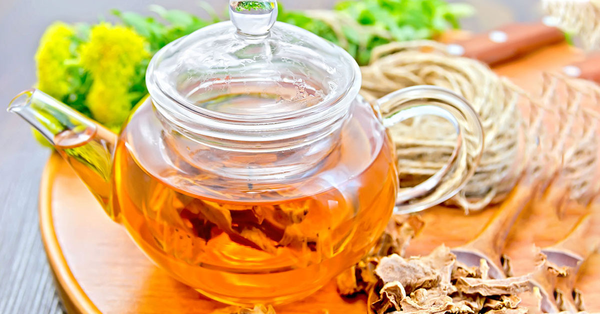 This Herbal Brew Will Rev Up Your Weight Loss
