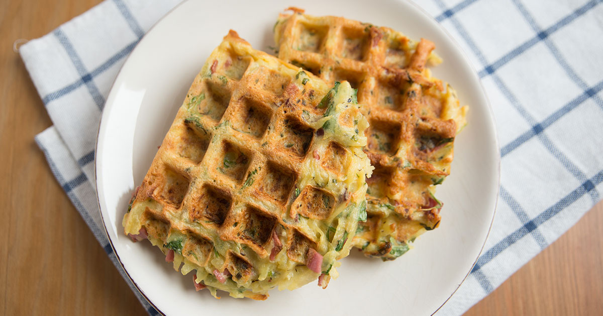 Healthy and Delicious Paleo Sweet Potatoes Waffle
